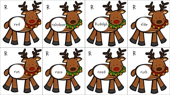 """Reindeer Words: Articulation Targets for """"R"""""""