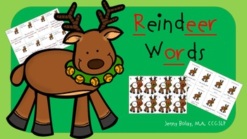 "Reindeer Words: Articulation Targets for ""R"""