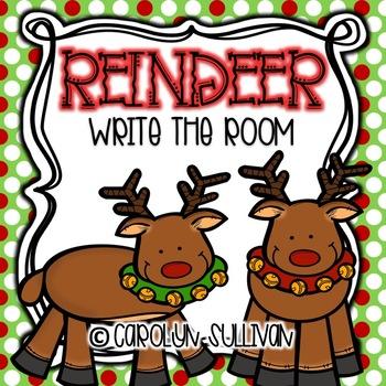 Reindeer Write the Room!