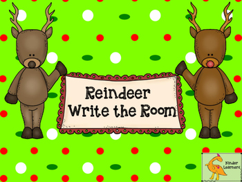 Reindeer Write the Room