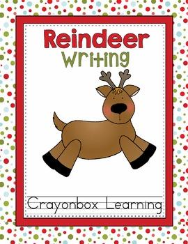Reindeer Writing Activity -  Adopt a Reindeer