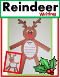 Reindeer Writing Craft