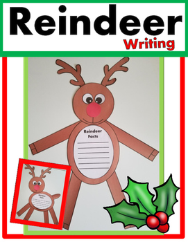 Reindeer Writing Craft
