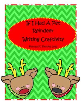 Reindeer Writing Craftivity