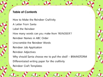 words you can make with the letters reindeer writing craftivity and printables persuasive 4918