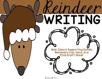 Reindeer Writing {FREEBIE}