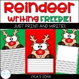 Reindeer Writing FREEBIE!