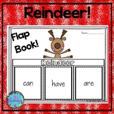 Reindeer Writing Flap Books! Christmas ESL