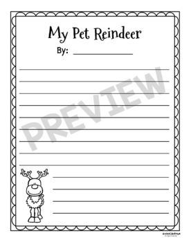 Reindeer Writing Prompts
