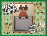 Reindeer Writing & Science Craftivity