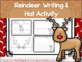 Reindeer Writing and Hat Activity- Print & Go! Headband st