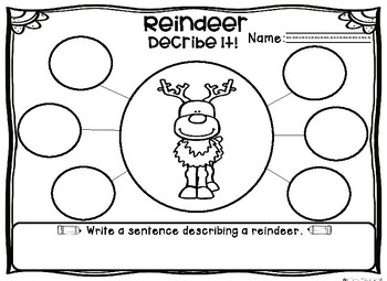 Reindeer and Penguins Non-Fiction Read Aloud Activities Resource