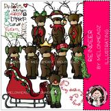 Reindeer clip art - Melonheadz clipart