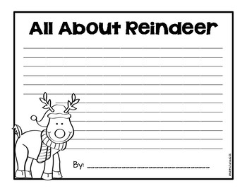 Reindeer! {Craft and Writing}