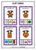 Reindeers Shape Sorting Activity - Reindeer Themed Shapes