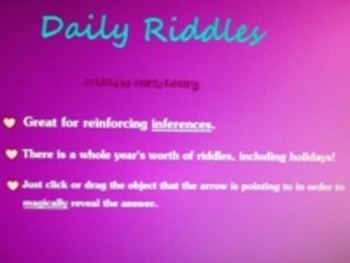 Reinforce Inference Skills Through Daily Riddles