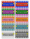 Reinforcement Punch Cards for Speech and Language Therapy