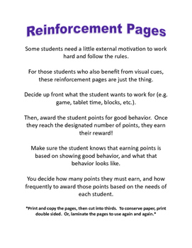 Reinforcement Tool: Earning Points