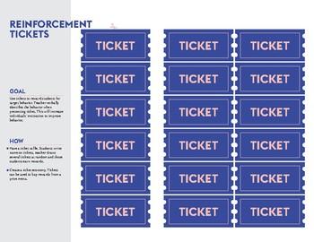 Reinforcement Tool: Tickets