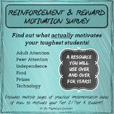 Motivation Survey - find out what ACTUALLY motivates your toughest students!