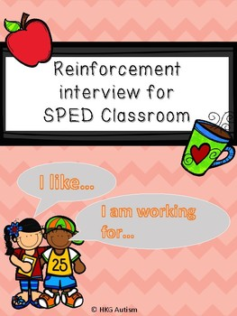 (Eng/Chi version) Reinforcement Parent Survey for Elementary SPED classroom