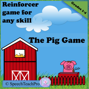 Open-Ended Reinforcer Game: The Pig Game