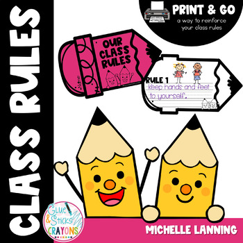 Reinforcing Classroom Rules Student Booklet