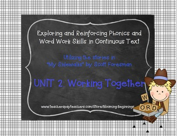 My Sidewalks, Level B: Phonics and Word Work in Continuous Text
