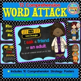 Reading Comprehension - Word Attack Strategies Posters