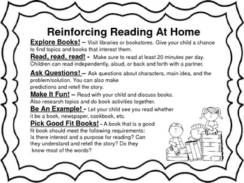 Reinforcing Reading at Home