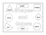Reinforcing Shapes and Colors Activity Book