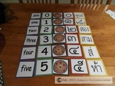 Reinforcing Thai and English numbers 0-10
