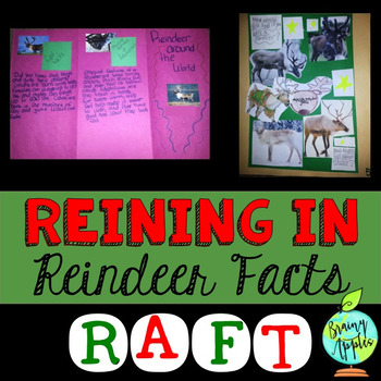Reindeer, Winter, Informative, Explanatory, Expository Writing, Research RAFT