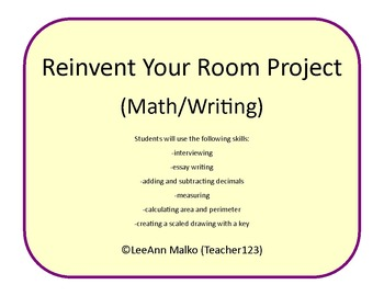 Reinvent Your Room Project