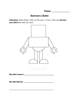 Reinventing a Robot