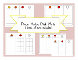 Place value disks mat