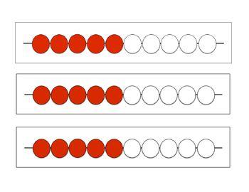 Rekenrek 10 beads