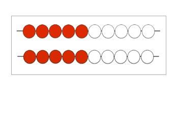 Rekenrek 20 beads