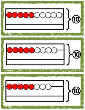 Rekenrek Addition Strategy Cards
