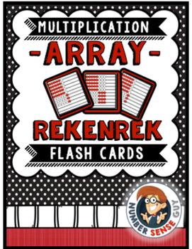 Rekenrek Array Cards