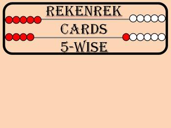 Rekenrek Cards (Color-Coded)