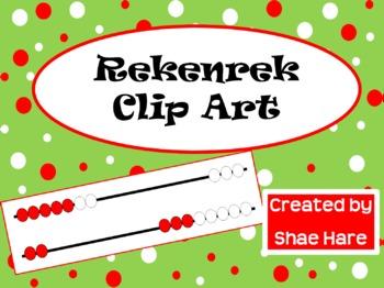 Rekenrek Clip Art - Common Core Math Numbers Addition