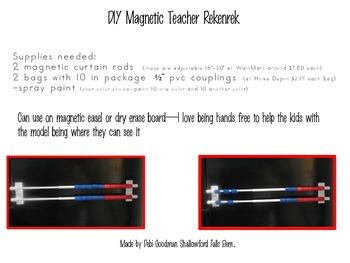 Rekenrek--DIY Magnetic Model