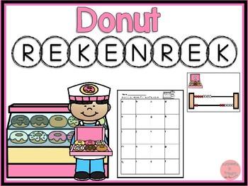 Rekenrek Donuts! Numbers 1-20