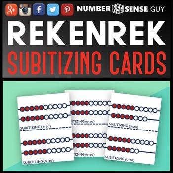 Rekenrek Flash Cards