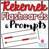 Rekenrek Flash Cards and Question Prompts