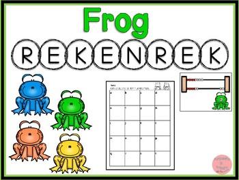 Rekenrek Frogs! Numbers 1-20