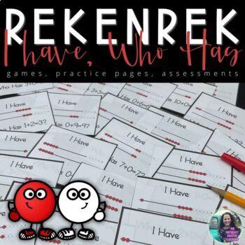 Rekenrek Game:  I Have, Who Has?
