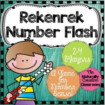 Rekenrek Game:  Number Flash