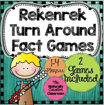 Rekenrek Game:  Turn Around Fact Memory Game